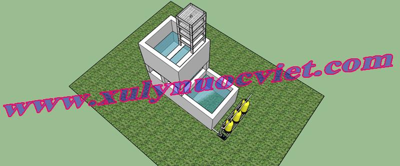 Hệ thống xử lý nước giếng đầy đủ nhất