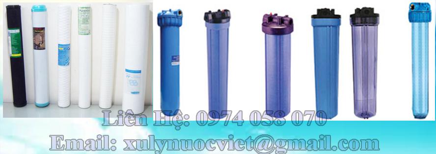 Bộ lọc nước cho máy nước uống nóng lạnh