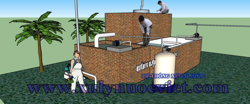 Hệ thống xử lý nước thải 3 D