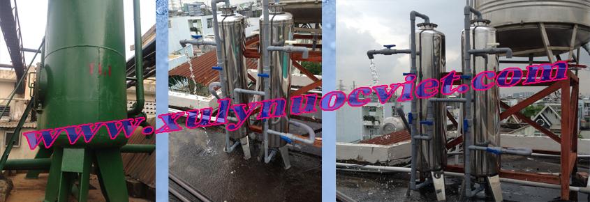 Lắp đặt hệ thống xử lý nước giếng gia đình