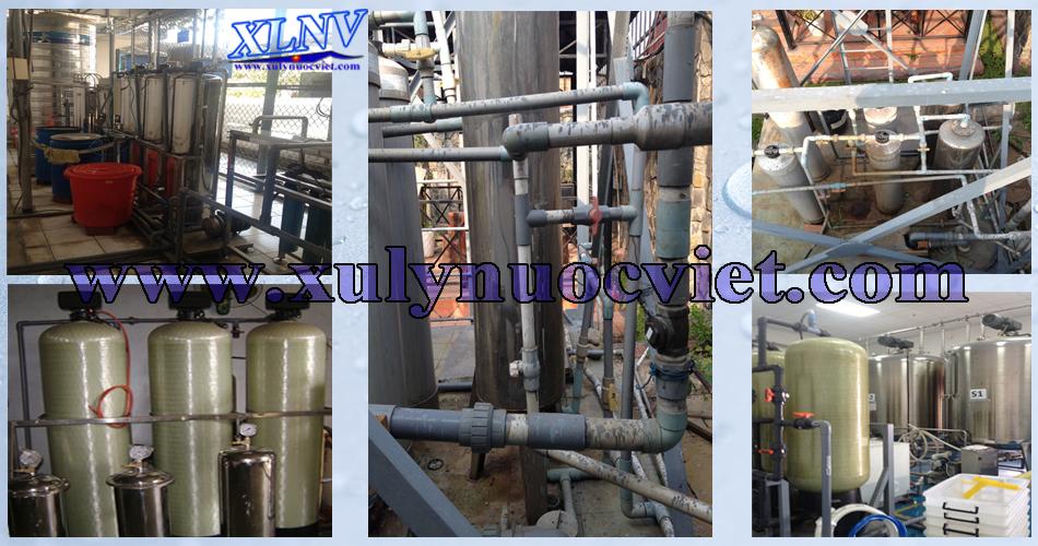 Hình ảnh hệ thống xử lý nước cấp