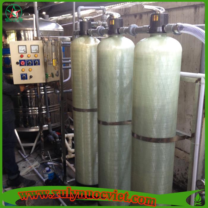 Hệ thống xử lý nước tinh khiết công suất 1000 lít/h