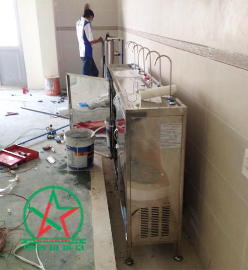 Máy lọc nước uống nóng lạnh 6 vòi công nghiệp