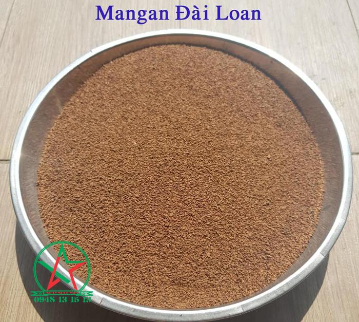 vật liệu lọc mangan